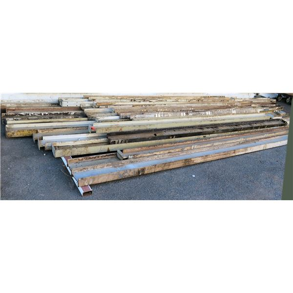 """Pallet Multiple Channel Iron & I-Beams Misc Lengths Including 300""""L x 8""""W x 7""""H"""