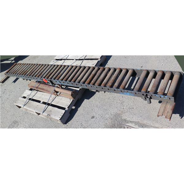 "Metal Conveyor Section 118""L x 12""W"