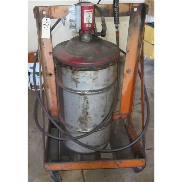 ConocoPhillips Co. 76 Multiplex Red #2 1044233 Drum on Rolling Cart