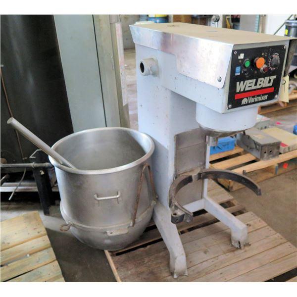 Welbilt Commercial Varimixer W40P Commercial Mixer & Bowl