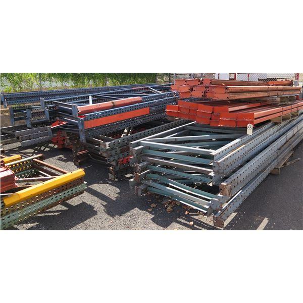 "Multiple Shelf Parts & Beams Misc Lengths Including 132"" - 193""L"