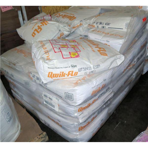 Qty 29 Qwik-Flo Honey Granules 50 Lb Bags