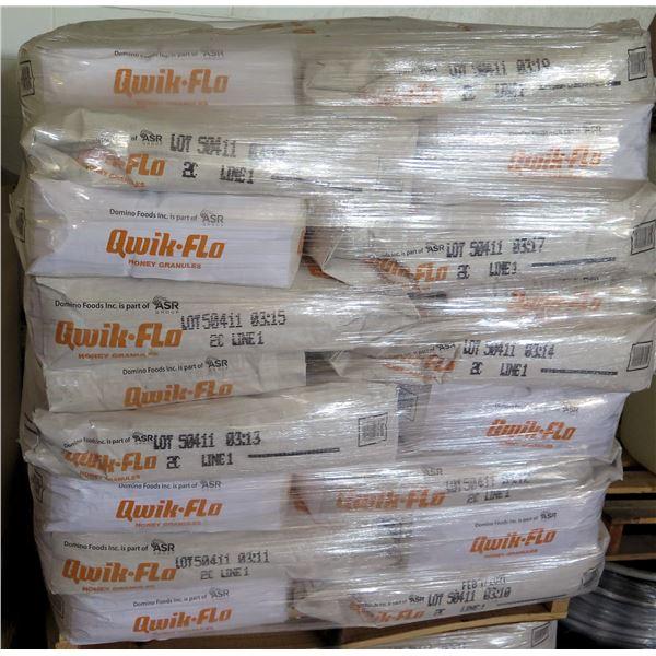 Qty 45 Qwik-Flo Honey Granules 50 Lb Bags