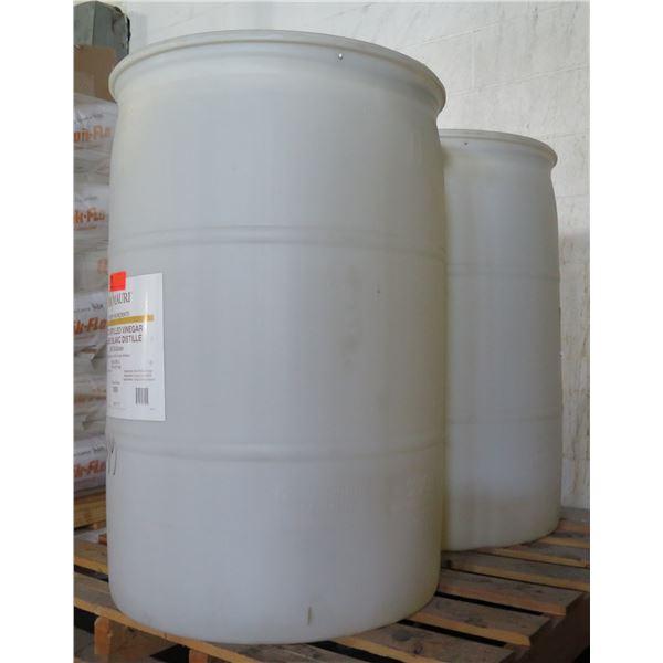 Qty 2 Drums AB Mauri Bakery Ingredients White Distilled Vinegar 200 US Grain