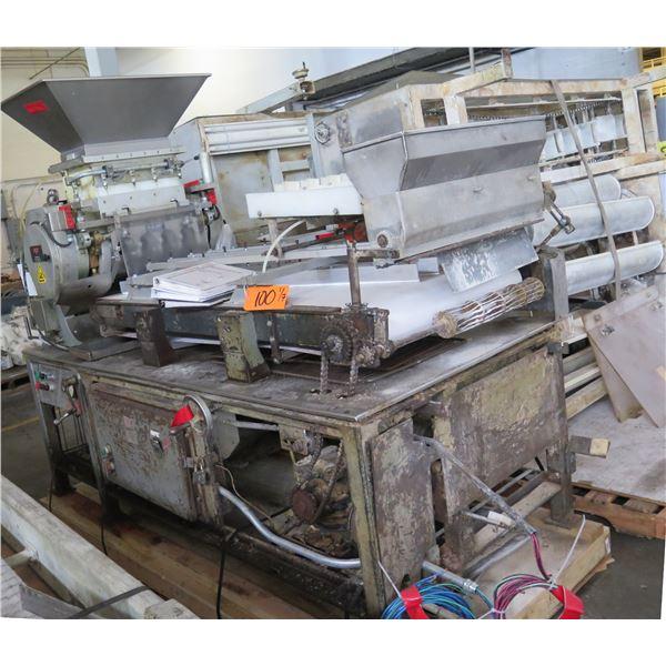 AMF Bakery K400S Dough Divider Rounder Roll Machine 460V, 3 Phase