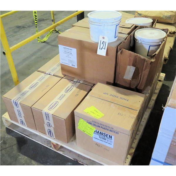 Pallet Multiple Boxes Watson Ascorbitabs, AB Mauri Dough Improver Tablets, etc