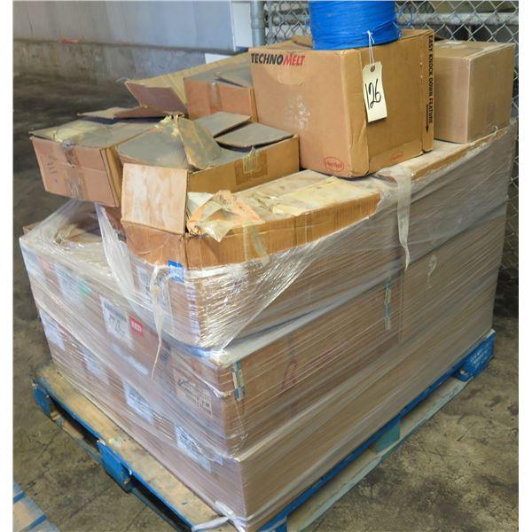 Pallet Multiple Boxes Qwik Lok Corp. Precision Wound Rolls Bag Closures P18-00258