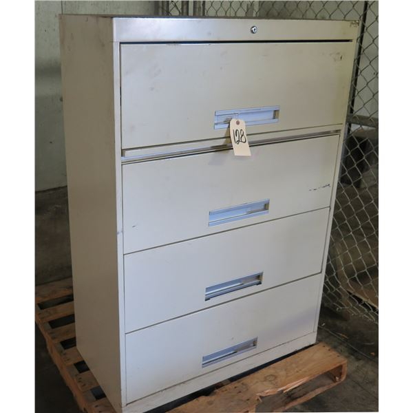 Metal Lateral 4 Drawer File Cabinet