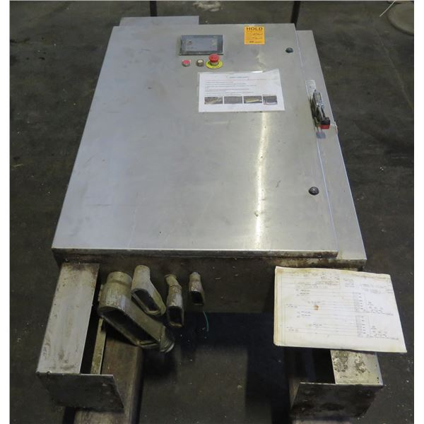 Square D Metal Switch Box Donut Fryer Panel Not in Service