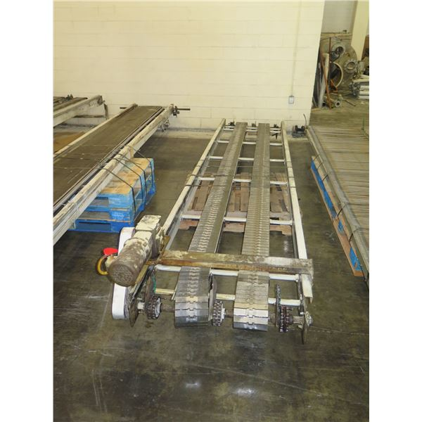 """Long Conveyor, Approx. 16 Ft Long, Approx. 41.5"""" Wide"""