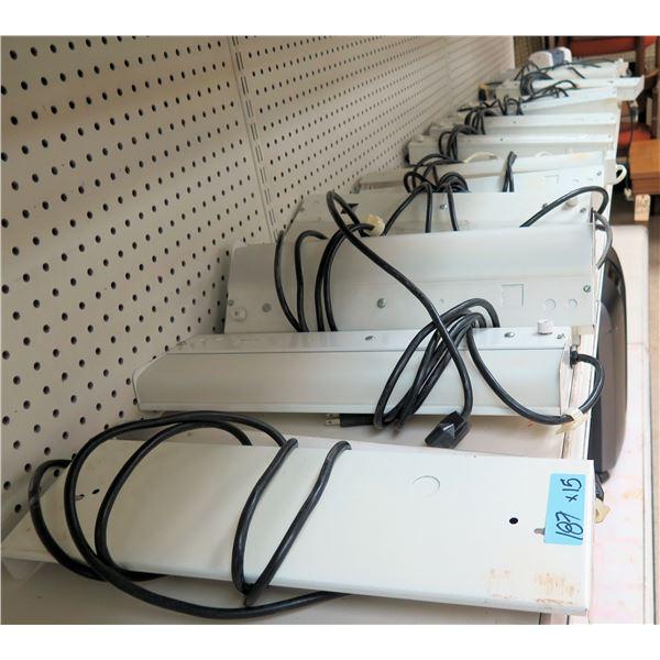 Qty 15 Specialty Lighting 15 Watt Electric Lamps #F1ST12, 120 Volt 60 HZ