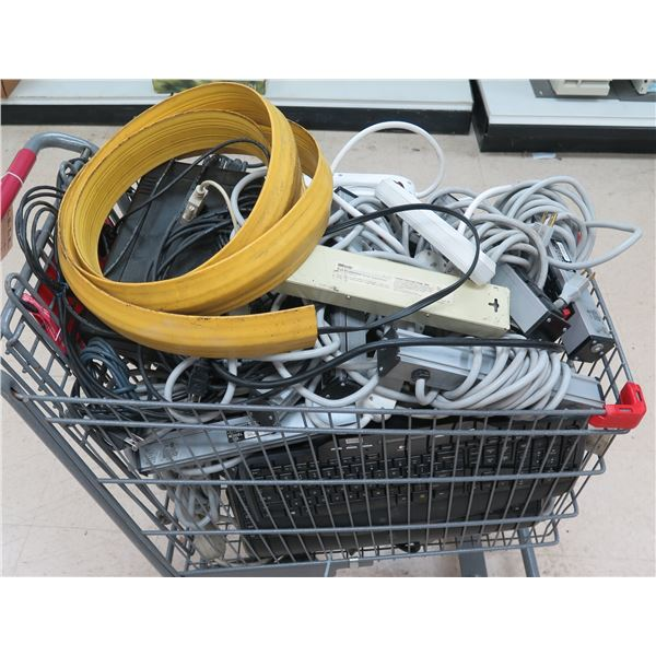 Multiple Surge Protectors, Power Strips, Rubber Cord Cover, etc