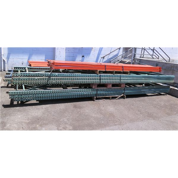 Multiple Warehouse Pallet Rack Shelving & Beams (Unassembled)