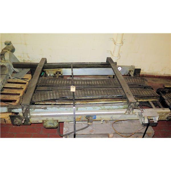 Pallet Metal 2 Belt Conveyor Section