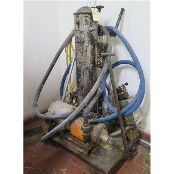 Commercial Oil Filter Pump w/ Hardware & Hoses
