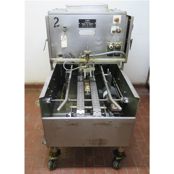 Mallet Automatic Bread Pan Greaser on Wheels Model 412-77