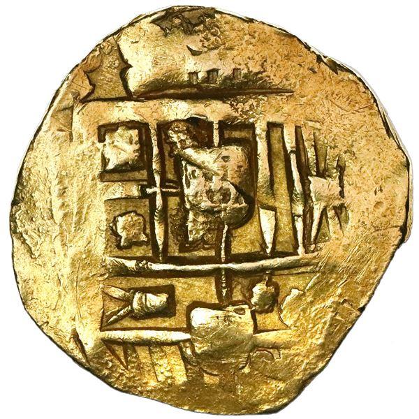 Seville, Spain, cob 8 escudos, Philip IV, assayer not visible.