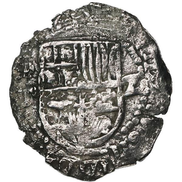 Potosi, Bolivia, cob 2 reales, (1)620T, Grade 2.