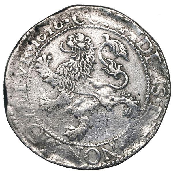"""Holland, United Netherlands, """"lion"""" daalder, 1616."""