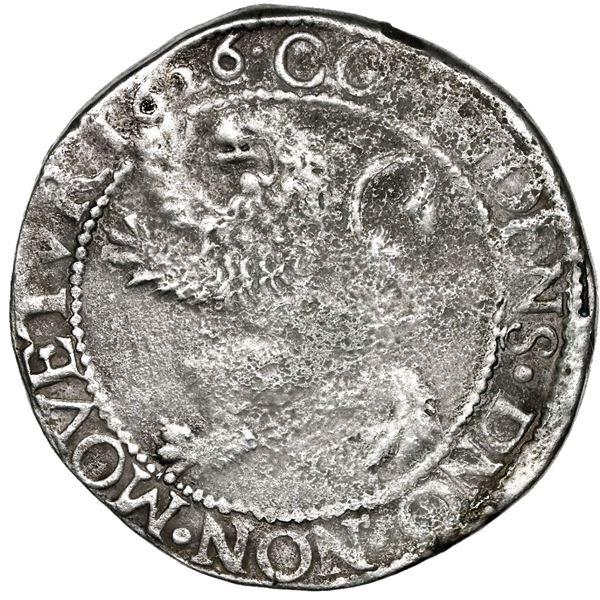 """Utrecht, United Netherlands, """"lion"""" daalder, 1626."""