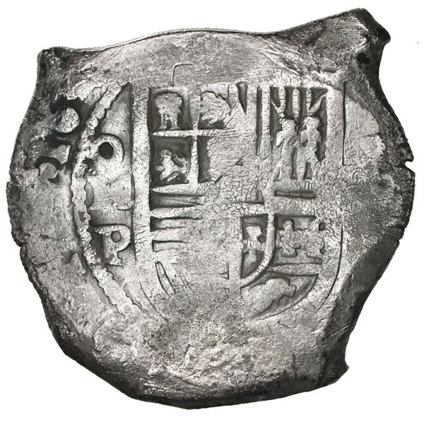 Mexico City, Mexico, cob 8 reales, 163(?)P.