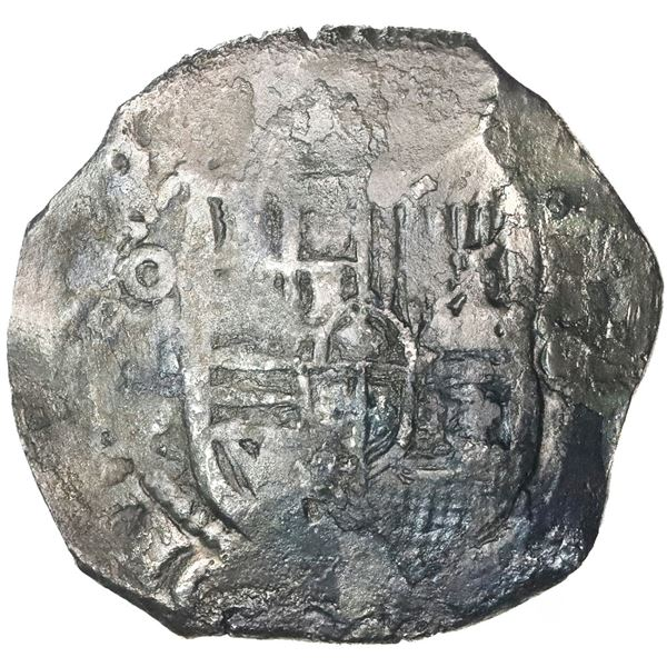 Mexico City, Mexico, cob 8 reales, (16)40/39(?)P.