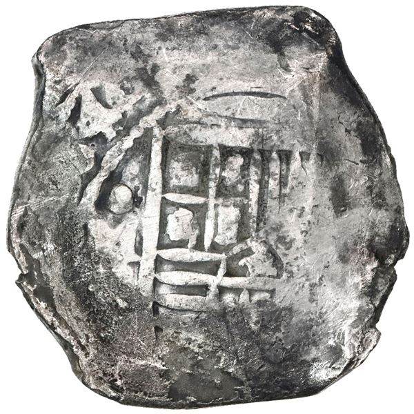 Mexico City, Mexico, cob 8 reales, 1640(P).