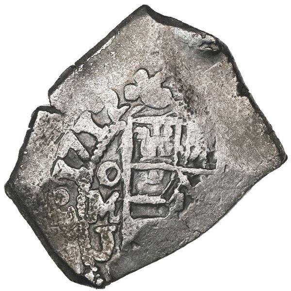 Mexico City, Mexico, cob 4 reales, 1712J, rare, ex-Pullin.