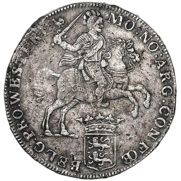 """Westfriesland, United Netherlands, """"rider"""" ducatoon, 1742."""