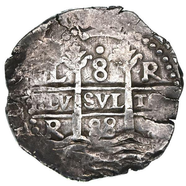 Lima, Peru, cob 8 reales, 1688R.