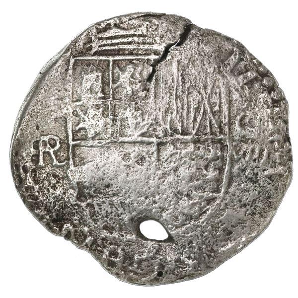 Potosi, Bolivia, cob 8 reales, (16)18PAL, rare.