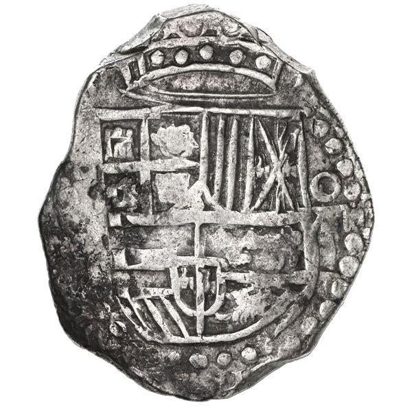 Potosi, Bolivia, cob 8 reales, 1619(T).