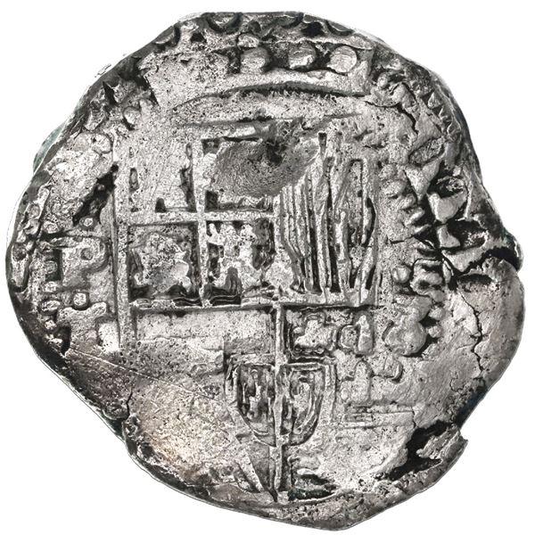 Potosi, Bolivia, cob 8 reales, 1632T.