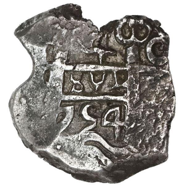 Potosi, Bolivia, cob 4 reales, 1754C.