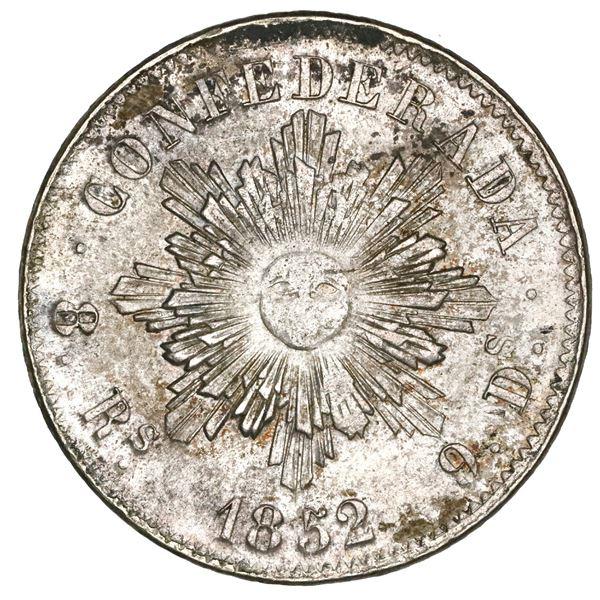 Cordoba, Argentina, 8 reales, 1852, NGC MS 62+.