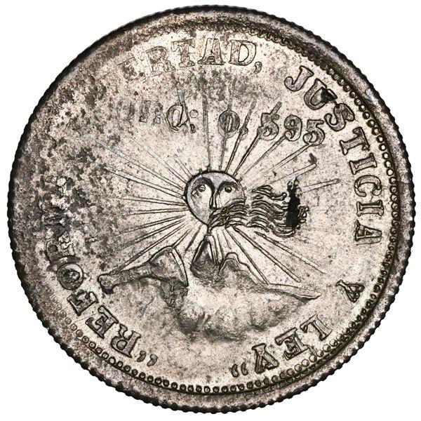 Guerrero, Mexico, 2 pesos, 1914-GRO, NGC MS 61.