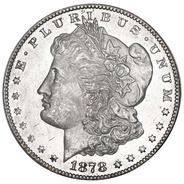USA (San Francisco Mint), Morgan dollar, 1878-S, PCGS MS65.