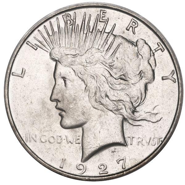 USA (Denver Mint), Peace dollar, 1927-D, PCGS MS62.