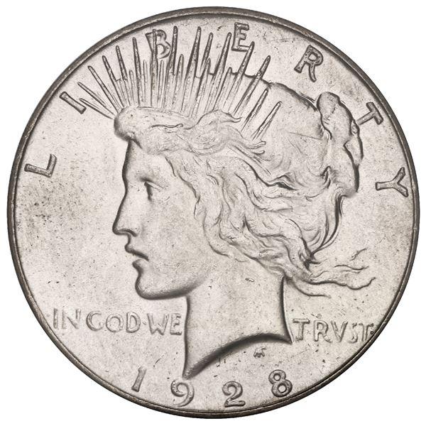 USA (Philadelphia Mint), Peace dollar, 1928, PCGS MS63.