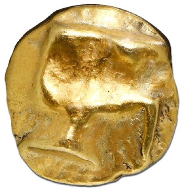 Ionia, EL 1/24th stater, ca. 625-550 BC, NGC XF, strike 4/5, surface 4/5.