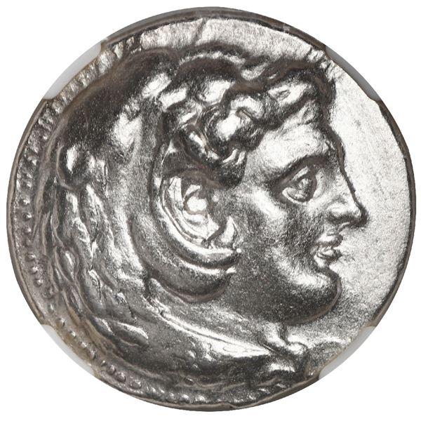 Kingdom of Macedon, AR tetradrachm, Alexander III (the Great), 336-323 BC, lifetime issue, struck un