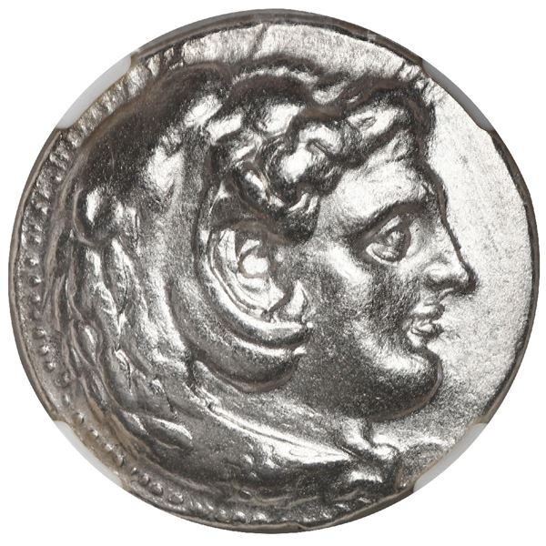 Kingdom of Macedon, AR tetradrachm, Alexander III (the Great), 336-323 BC, lifetime issue, struck un
