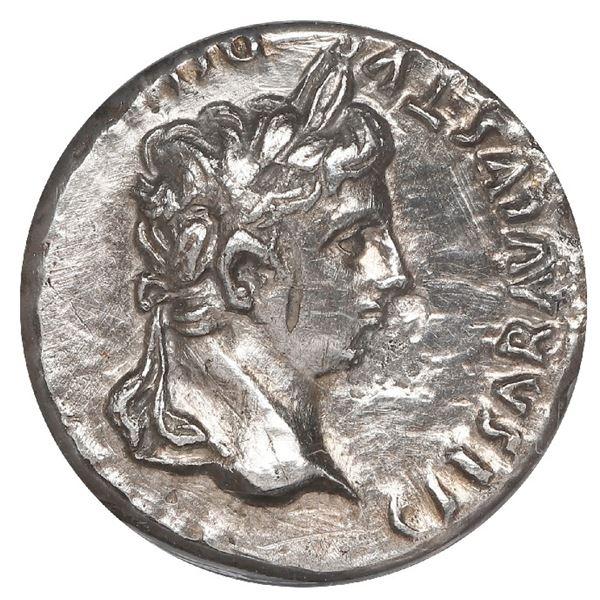 Roman Empire, AR denarius, Augustus (27 BC-14 AD), Lyons mint (misattributed to Rome mint), struck 2
