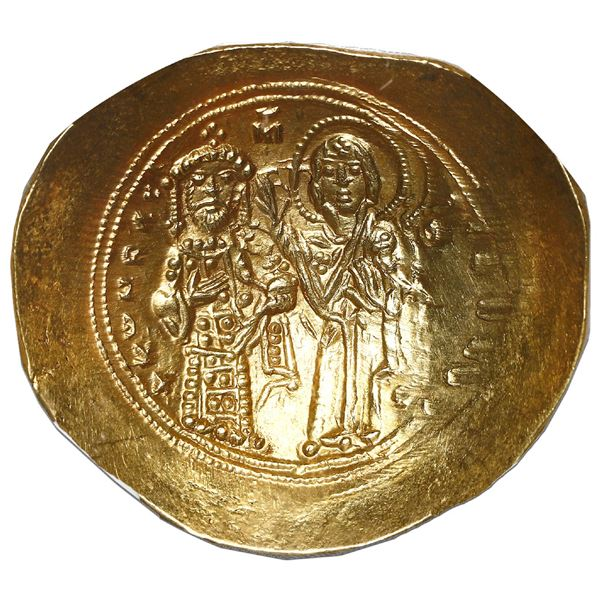 Byzantine Empire, AV histamenon nomisma, Constantine X, 1059-67 AD, Constantinople mint, NGC AU, str