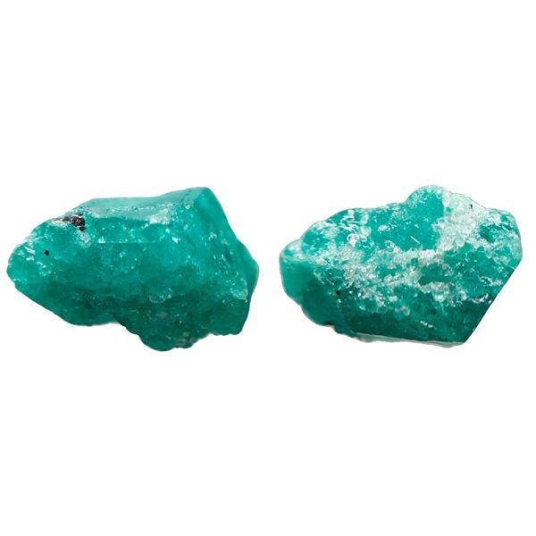 Medium natural emerald, 1.65 carats, class 2A, ex-Atocha (1622).