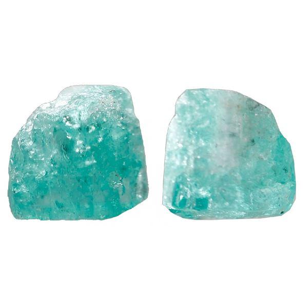 Medium natural emerald, 1.58 carats, class 2A, ex-Atocha (1622).