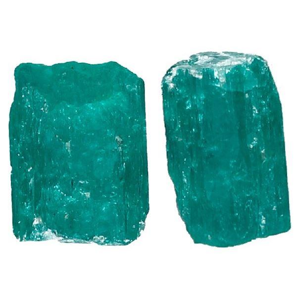 Small natural emerald, 0.57 carat, class 2A, ex-Atocha (1622).