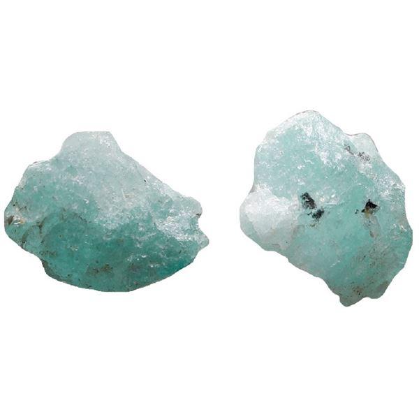 Small natural emerald, 0.69 carat, class 2B, ex-Atocha (1622).