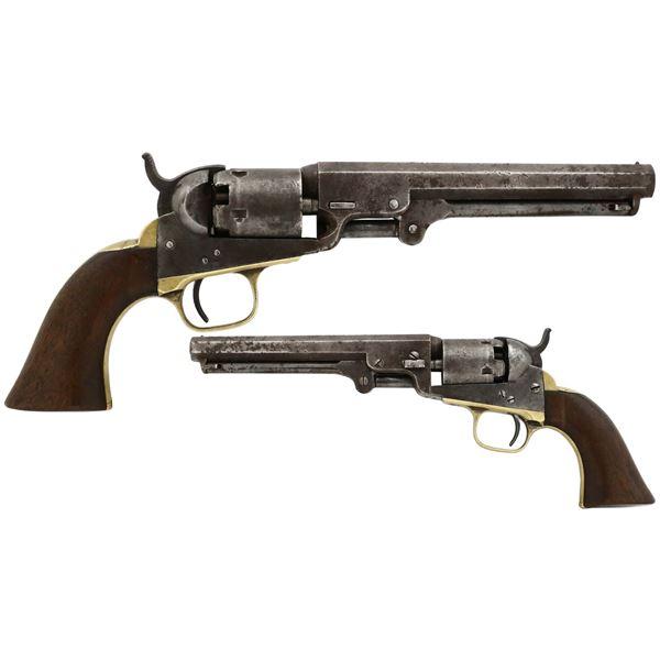 American .31 caliber pocket revolver, Colt Model 1849, made 1861.