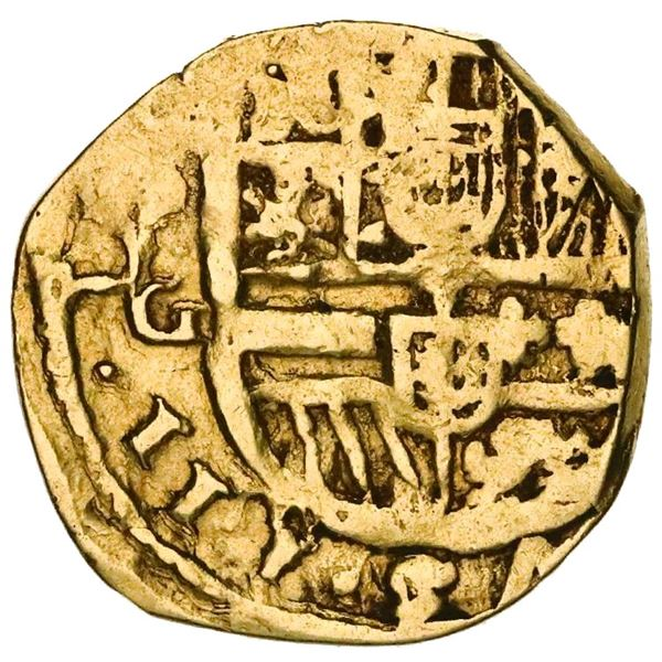 Seville, Spain, cob 2 escudos, 1621G.